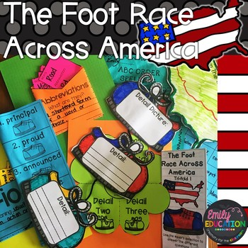The Foot Race Across America Journeys 3rd Grade Activities Lesson 26