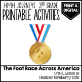 The Foot Race Across America: Journeys 3rd Grade (Unit 6, Lesson 26)