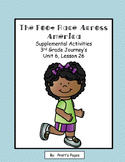 The Foot Race Across America Supplemental for Journey's 3rd Gr. Unit 6 Lesson 26