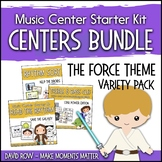 The Force: Intergalactic Themed Music Center Starter Kit - Variety Pack Bundle
