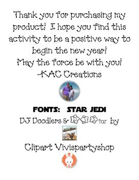 The Force Will Awaken in 2016 Goal Writing