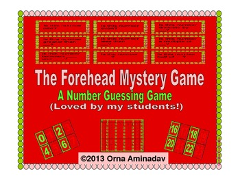 The Forehead Mystery Game