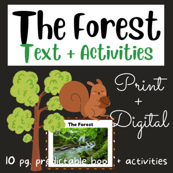 The Forest: Mini Book #8 (Fry Sight Words)