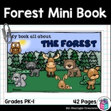 The Forest Mini Book for Early Readers: Forest Animals