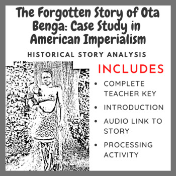 The Forgotten Story of Ota Benga: Case Study in American Imperialism