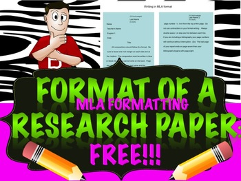The Research Paper: Formatting & Examples
