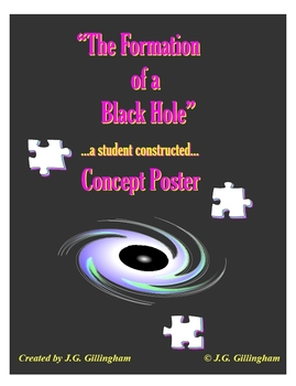 The Formation of a Black Hole: A Student Constructed Concept Poster