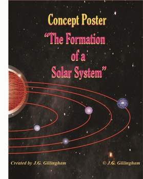 ASTRONOMY: The Formation of a Solar System: A Student Constructed Concept Poster