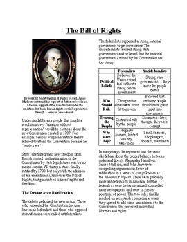 Info Text-The Foundations of American Government: The Bill
