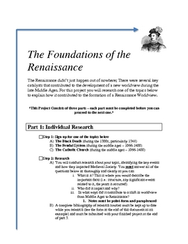 The Foundations of the Renaissance