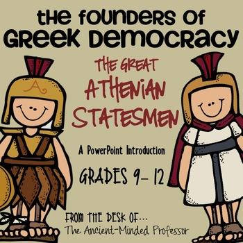 The Founders of Greek Democracy
