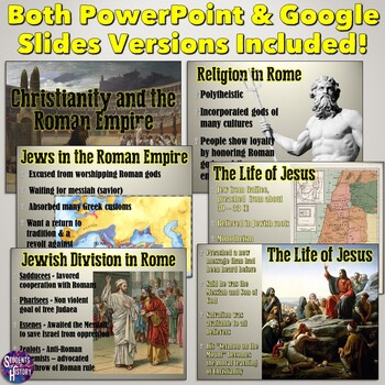 The Founding & Growth of Christianity in the Roman Empire