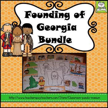 The Founding of Georgia Bundle (Oglethorpe, Tomochichi, and Musgrove)