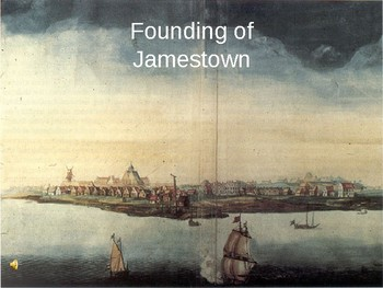 The Founding of James Town, The Plymouth Colony & Mayflower Compact PPT