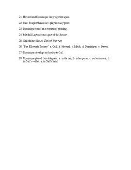 The Fountainhead Book 3 Reading Check Test/Quiz
