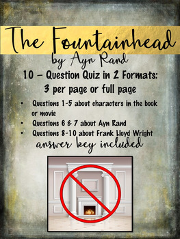 The Fountainhead by Ayn Rand 10-Question Quiz