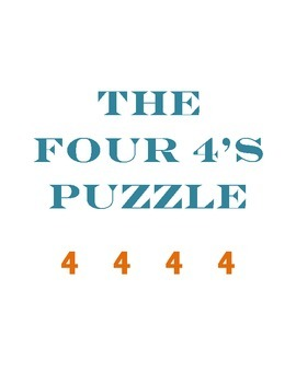 The Four 4s Puzzle