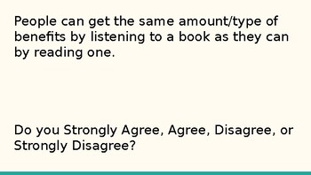 The Four Corners Game: teaching argument and introducing research topics