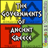 Ancient Greece Government: Comparing Monarchy, Oligarchy, Tyranny and Democracy!