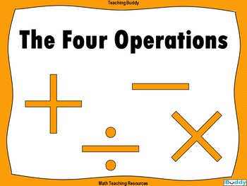 The Four Operations