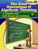 The Four Operations & Algebraic Thinking (Distance Learning)