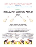 The Four-Part Guitar Class Method