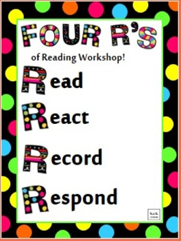 The Four R's of Reading Workshop Poster