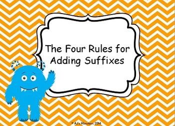 The Four Rules for Adding Suffixes