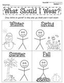 The Four Seasons Activity