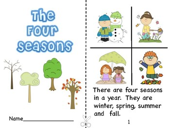 The Four Seasons Booklet