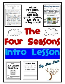 The Four Seasons Intro Lesson