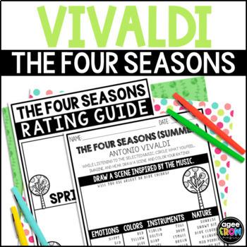 the four seasons listening sheets vivaldi spring summer autumn