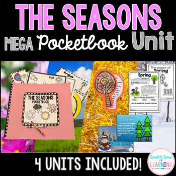 The Four Seasons MEGA BUNDLE for Kindergarten, First grade and special education