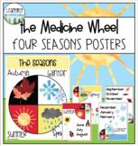 The Medicine Wheel - Four Seasons Posters
