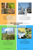 The Four Seasons Posters - With Nature Photography and Definitions