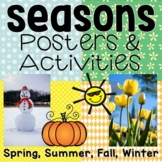 The Four Seasons: Posters and Activities for fall, winter, spring, & summer