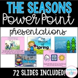 The Four Seasons PowerPoint Presentations for K-1 and special education