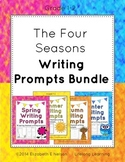 The Four Seasons Writing Prompts Bundle: Grades 1-2
