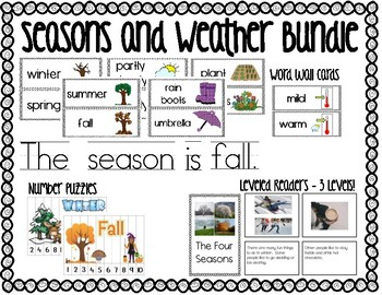 The Four Seasons and Weather Bundle!