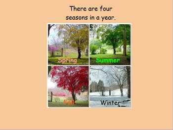 The Four Seasons flipchart