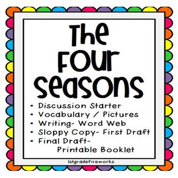The Four Seasons..Writing Kit