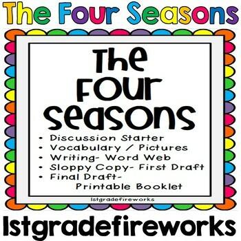 The Four Seasons..Writing Kit