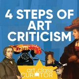 The Four Steps of Art Criticism Complete Lesson