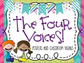 The Four Voices: Classroom Posters and Visuals