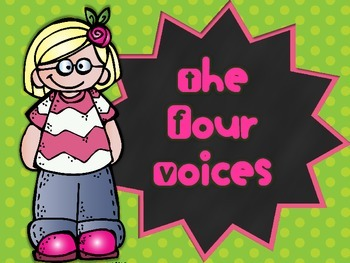 The Four Voices - Posters