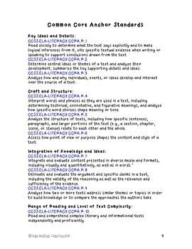 The Fourteenth Goldfish by Jennifer Holm: Close Reading Novel Study Guide