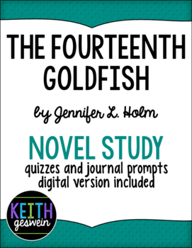 The Fourteenth Goldfish Power Pack: 15 Journal Prompts and 15 Quizzes