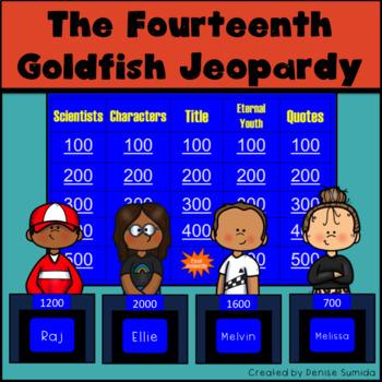 The Fourteenth Goldfish by Jennifer L. Holm Jeopardy