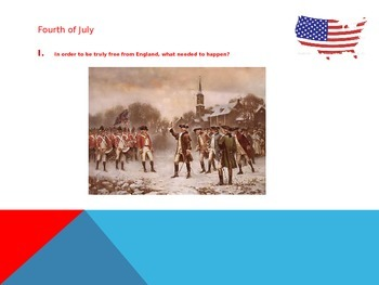 President's Day- Fourth of July Game