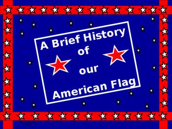 Math Lab:  The US Flag, some flag Trivia, and some fun math